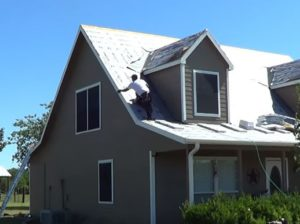 Picture Showing The Basics of Roof Replacement in Plymouth, MA